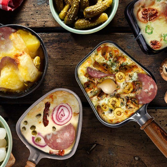 Soirée raclette Chorizo et Pancetta