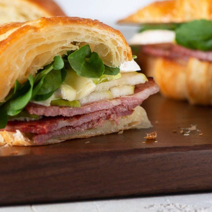 The ultimate breakfast croissant with Capicollo